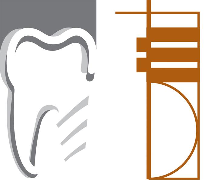 2 logos pour un cabinet d'omnipratique et un d'implantologie