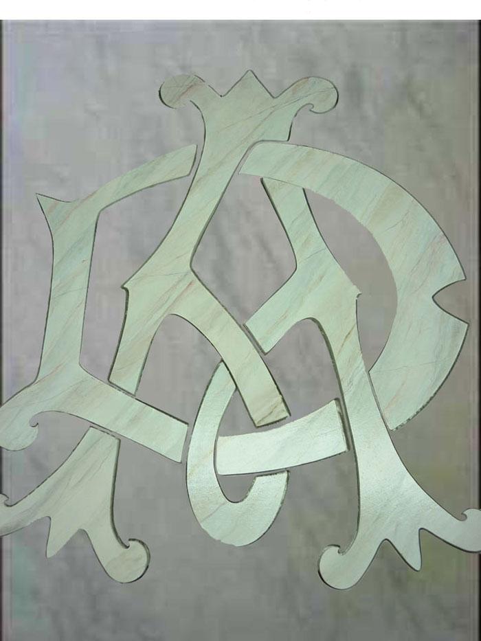 Monogramme Alfred Dunhill - Palais de Tokyo 2010