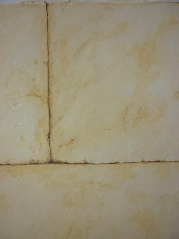 Detail sur l'effet pierre