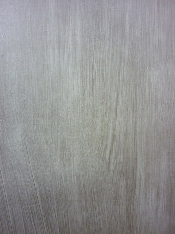 Détail peinture métalisée brossée