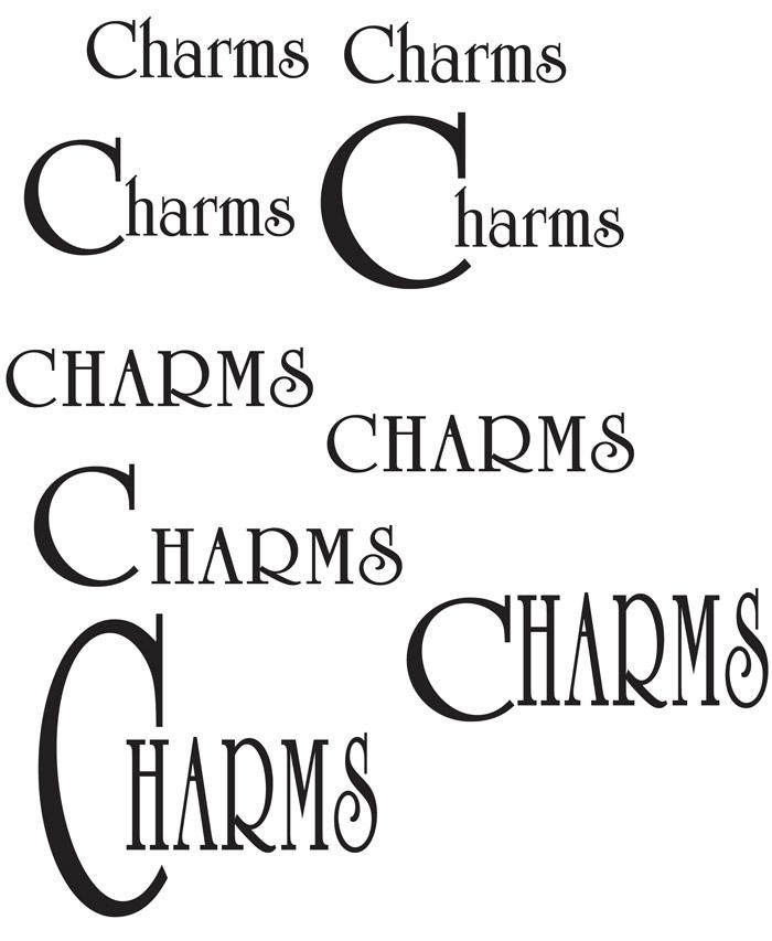 Plusieurs typographies sont proposées