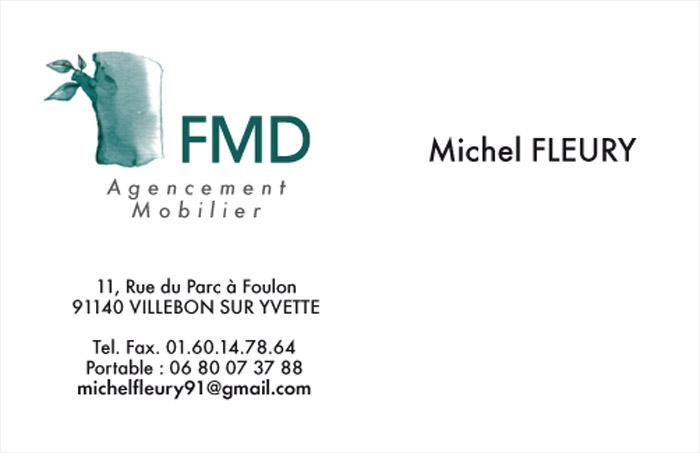Carte de visite Michel Fleury