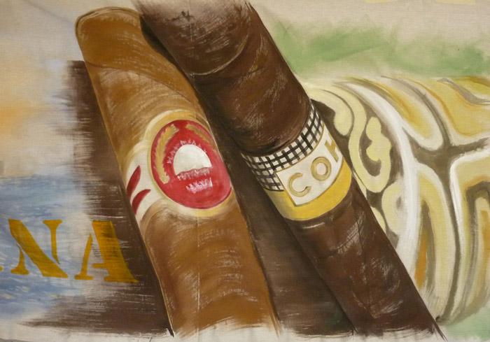 Les fameux cigares cubains