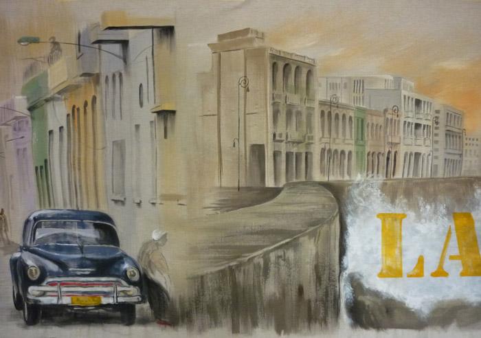 La jetée de La Havane