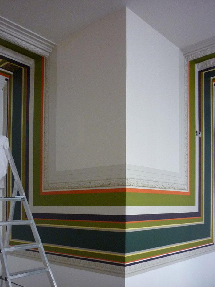 srmdeco cabinet d orthodontie srm decoration portfolio de sophie race marie graphiste. Black Bedroom Furniture Sets. Home Design Ideas