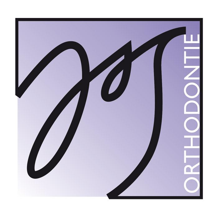 logotype monogramme décliné en noir et en couleur pour le Docteur Jean-Stéphane Simon, orthodontiste à Marseille.