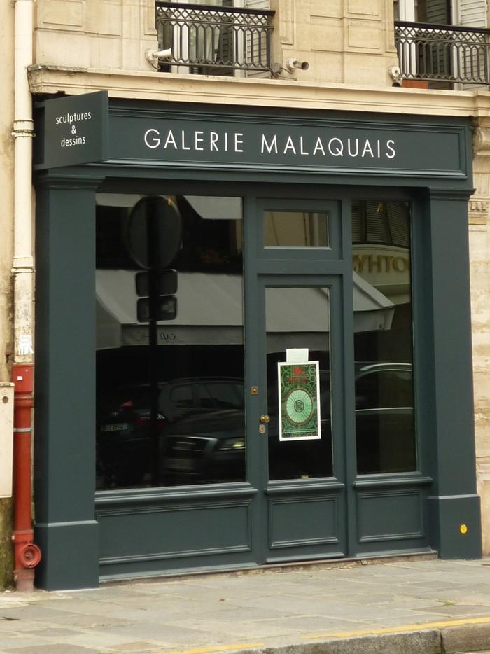 La Galerie Malaquais quitte la rive gauche et s'installe Rue du Faubourg St Honoré à Paris.