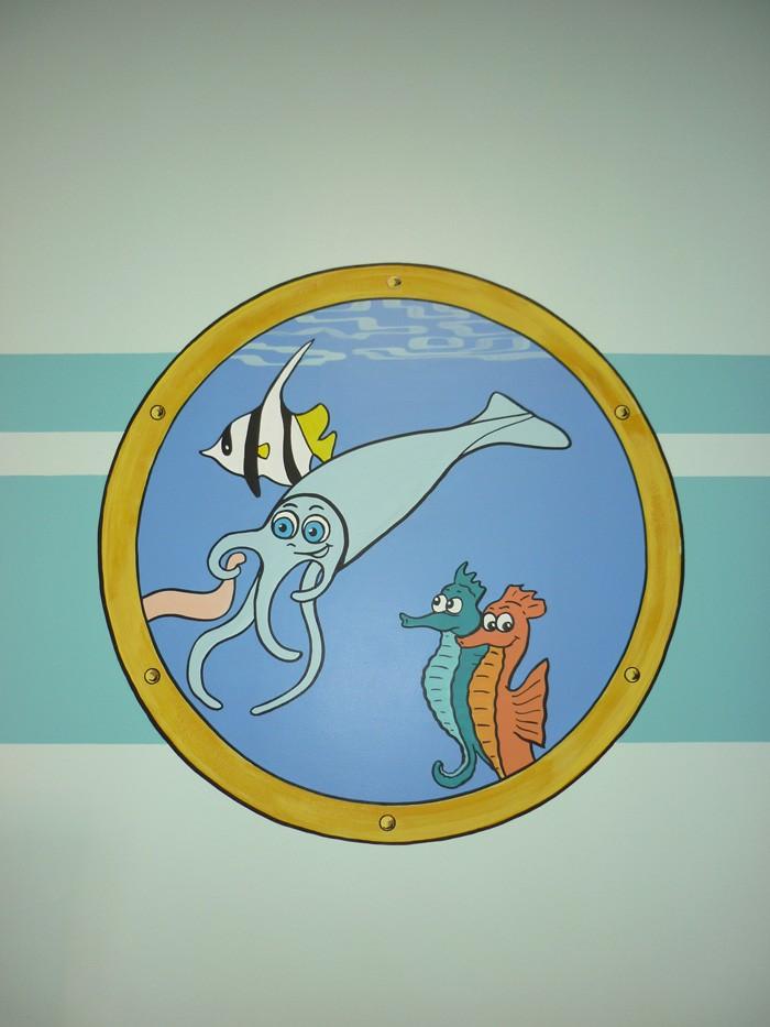 un calamar,