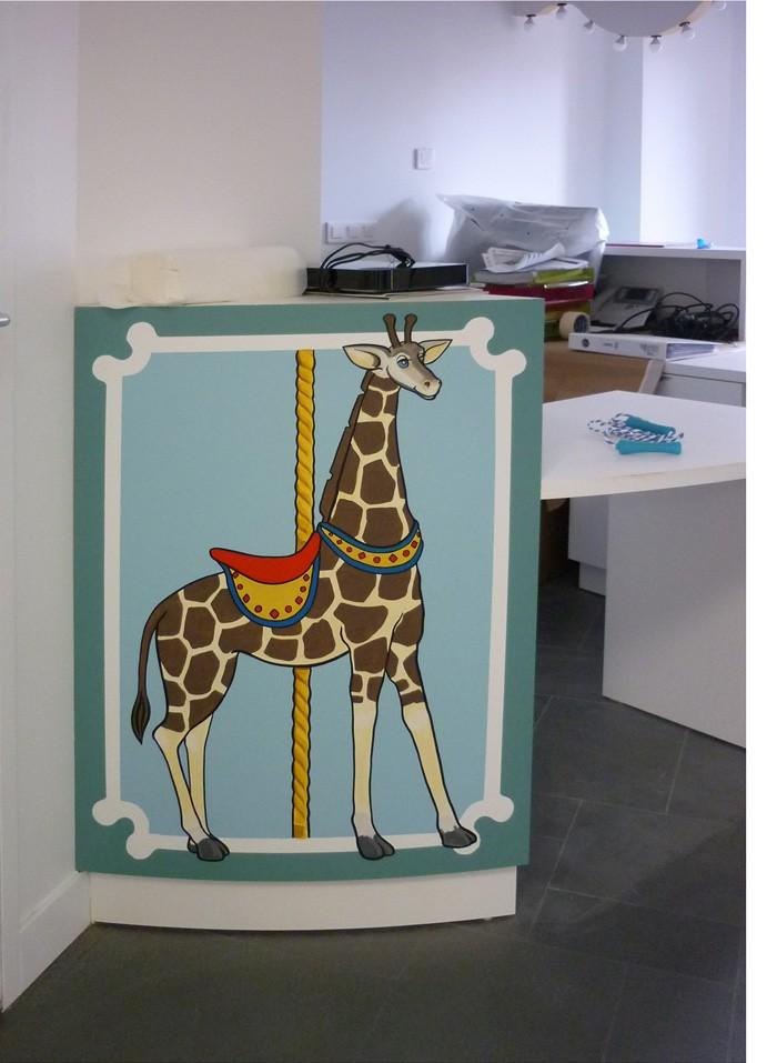 et même une girafe