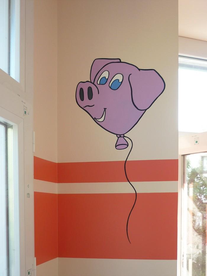 Un cochon s'échappe !